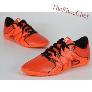 Adidas 15.4 Kids Orange Snake Indoor Soccer Shoes